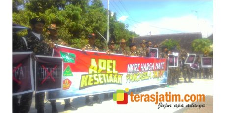 GP Ansor dan Ormas di Jombang, Tuntut Pembubaran Ormas Pengusung Khilafah