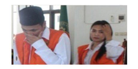 Dua Sejoli Pembobol Telkomsel Magetan Divonis Hakim 14 dan 10 Bulan Penjara