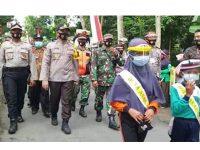 Gerakan Jatim Bermasker, Polres Blitar Kota Ajak Anak-Anak Sebagai Duta Masker