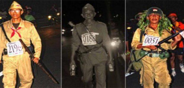 Mengenang Gerak Jalan Legendaris, Mojokerto-Suroboyo