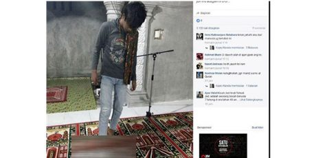 Polres Tulungagung Amankan 6 Remaja Yang Berfoto Injak Al-Quran