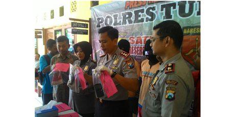 Dua Alap-Alap Jambret Tuban Dibekuk Polisi