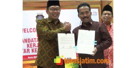 Pemkot Blitar Kerjasama dengan Pemkot Bandung Untuk Program Smart City dan E-Government