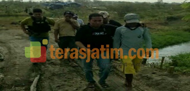 Polisi Gerebek Penambang Pasir Liar di Kediri