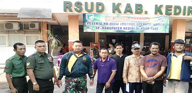 Kediri, TNI Peduli Populasi Penduduk