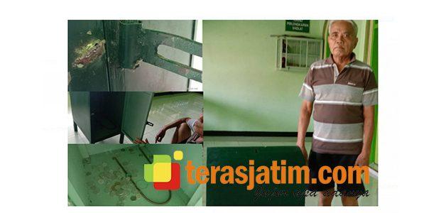 Kotak Infaq di Musholah Tlogoanyar Lamongan Dibobol Maling