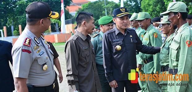 7.754 Linmas Ikut Amankan Pemilukada, TNI Jamin Netral