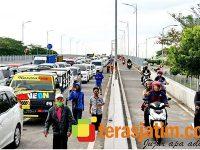 Tekan Sebaran Covid-19, Melintas di Jembatan Suramadu dan Pelabuhan Kamal Wajib Tunjukkan SIKM