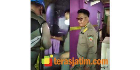 Tak Berizin, Satpol PP Bangkalan Segel Cafe Karaoke di Jalan RE Martadinata