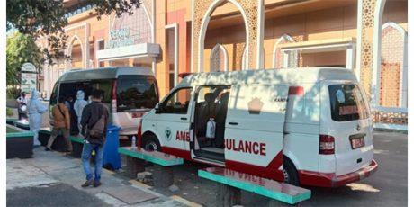 15 Pasien OTG Covid-19 Dipindahkan ke RS Darurat BPWS Bangkalan