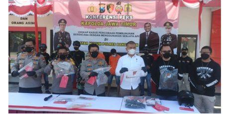 Kapolda Rilis Kasus Penembakan di Perum Kailas Bangkalan