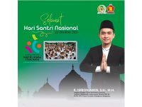 Anggota Komisi I DPR RI, R. Imron Amin: Selamat Hari Santri Nasional, Santri Siaga Jiwa Raga
