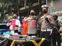 Takuti Korbannya, 2 Maling Motor di Kota Malang ini Gunakan Airsoft Gun