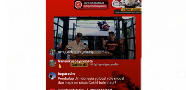 Ngovi (Ngobrol Virtual) Seputar Honda Bareng Gerry Salim, Pembalap Astra Honda Racing Team (AHRT)