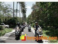 MPM Honda Jatim Ajak HPCI dan HAI Banyuwangi Touring Culturide Wisata Budaya