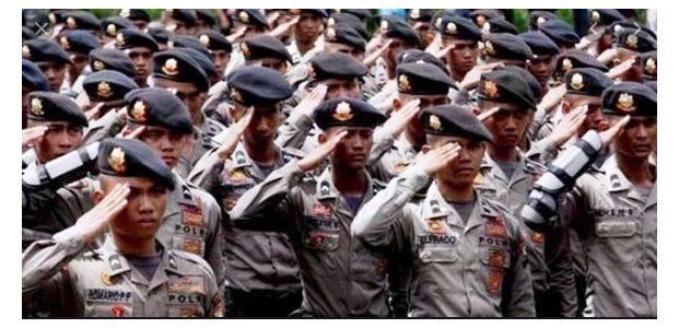 3.857 Polisi dan PNS di Jajaran Polda Jatim Naik Pangkat
