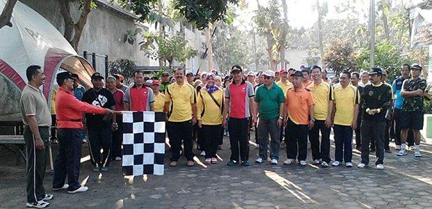 Kediri, TNI Gelar Jalan Sehat Bareng Rakyat
