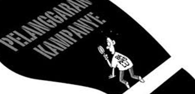 Dugaan Pelanggaran Kampanye, Oleh Salah Satu Paslon Pilkada