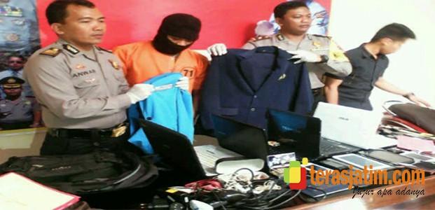 Polisi Ringkus Residivis Pelaku Pencurian di 16 Lokasi Berbeda