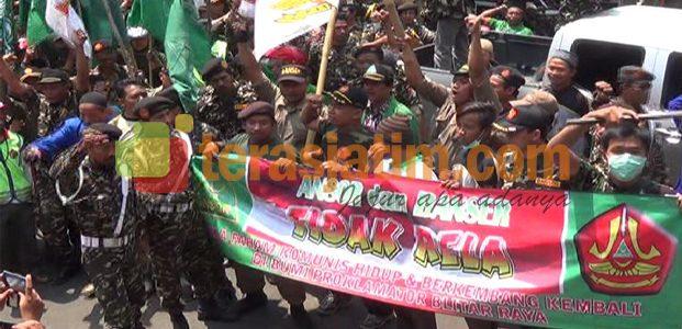 Aksi Ribuan Banser Menolak PKI Gaya Baru