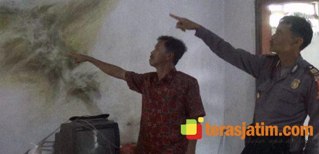 Rumah Disambar Petir, Pemilik Terluka