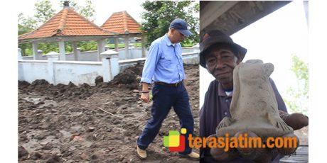 Akibat Alih Fungsi Lahan, Cagar Budaya Petilasan Damar Wulan di Jombang Rusak