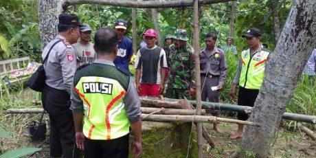 Benahi Pompa, Warga asal Binangun Blitar Tewas Terjatuh ke dalam Sumur