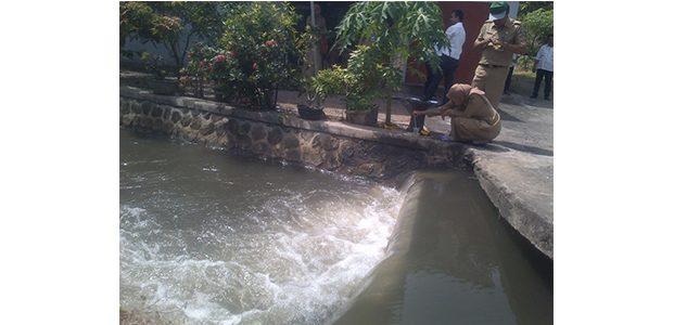 Dua Sungai di Kota Madiun Diduga Tercemar Limbah PG Redjo Agung