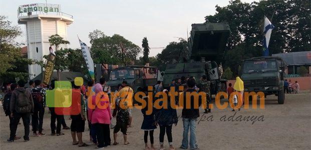 Alustista TNI jadi Hiburan Gratis Warga