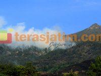 Gunung Arjuno Terbakar