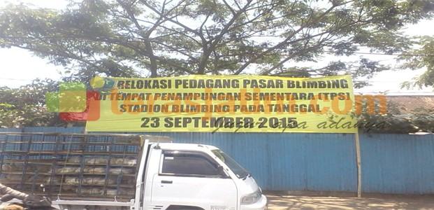 Relokasi Pedagang Pasar Blimbing Terancam Gagal