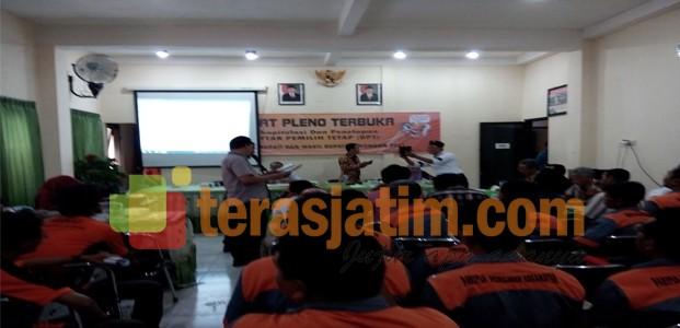 KPU Resmi Tetapkan DPT Pilkada Lamongan