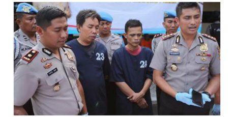 Dua Pelaku Penipuan Hingga Rp1,9 Miliar Ditangkap Polisi