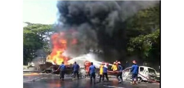 Identitas Korban dan Pengemudi Truk Tangki BBM yang Terbakar di Tol Sidoarjo, Akhirnya Diketahui