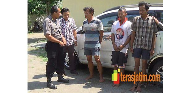 Sindikat Pencurian Mesin diesel Antar Kota, Digulung Polisi