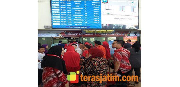 Bandara Juanda Dipadati Jamaah Umroh
