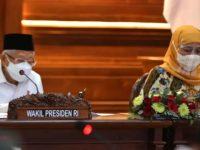 Wapres Pimpin Rakor Penanggulangan Kemiskinan Ekstrem 5 Kabupaten di Jatim