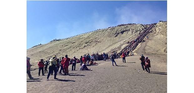 Libur Panjang, Wisatawan ke Gunung Bromo Meningkat