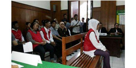 Wanita Pengedar Sabu Bersama Anggota Polisi, Divonis 6 Tahun Penjara
